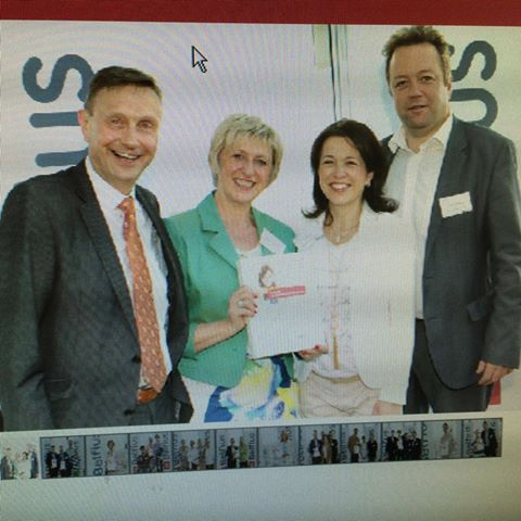 Ayude has been elected laureate by Belfius Bank in the Helping Hands competition